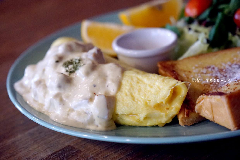 樂咖廚房。嘉義早午餐|滿足的奶油菇菇歐姆蛋
