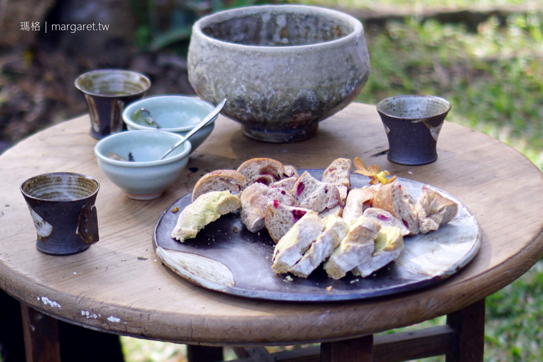 陶花源窯烤。每週只開3天的嘉義咖啡館|週三週四麵包出爐