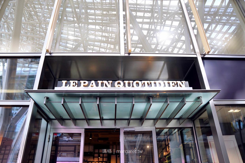 比利時麵包名店Le Pain Quotidien。六本木Midtwon|東京輕食早午餐