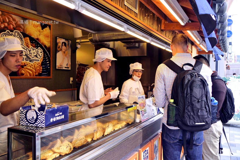 鳴門鯛魚燒。路過就買一個吃|浅草橋店。六本木中城店