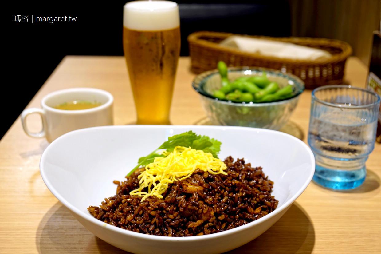 日本黑色蝦仁炒飯(えびめし)吃過嗎?|岡山車站一樓Lunch&bar SUN