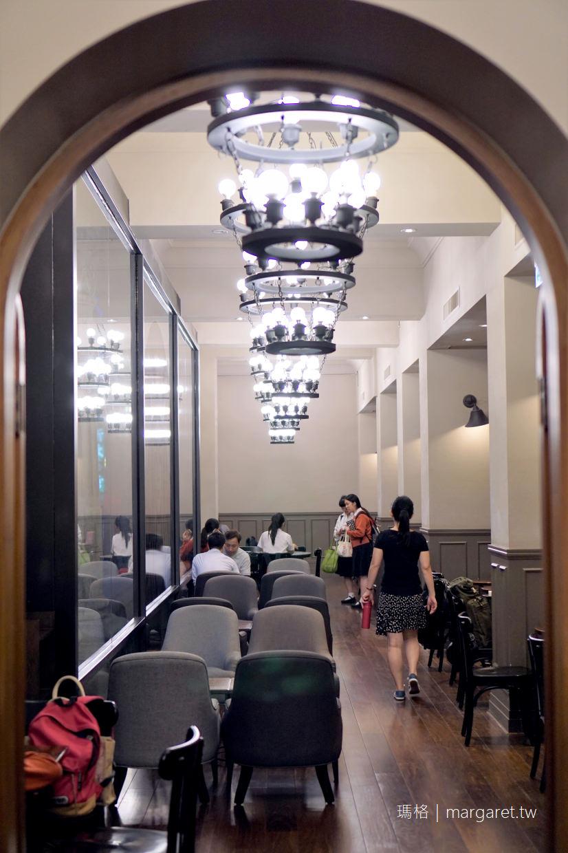 古蹟星巴克。保安門市|大稻埕富商葉金塗古宅改造的巴洛克式老屋咖啡 @瑪格。圖寫生活
