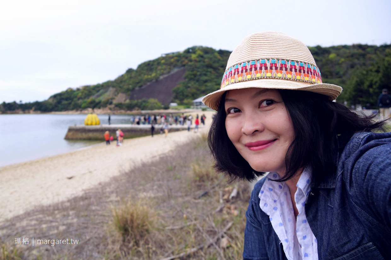 直島廢棄小碼頭上的草間彌生黃南瓜|Benesse House三訪