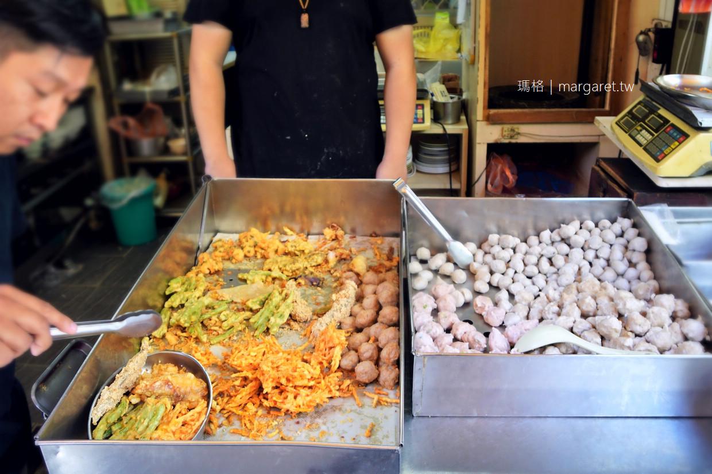 泉城點心店。炸物是重點|台南鴨母寮市場70年老麵店