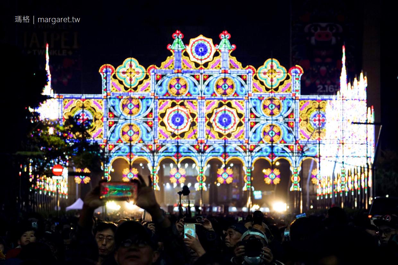 2019台北光之饗宴觀後感|Taipei Luminarie 動線建議
