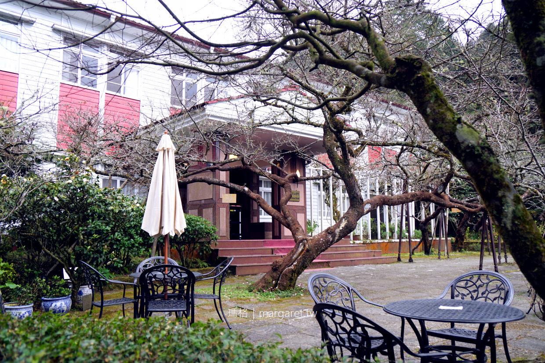 松庭咖啡。森林裡的日式關東煮、高山茶葉蛋|阿里山賓館歷史館。料峭春寒裡的清新暖意