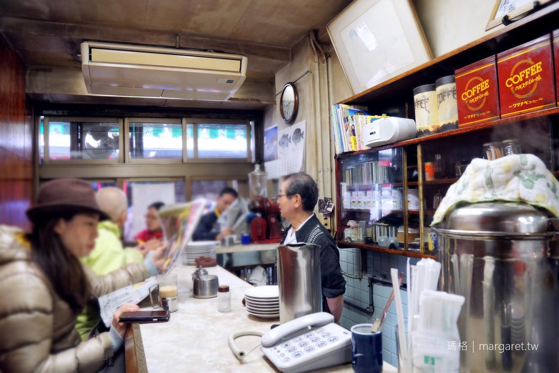 築地愛養咖啡。將走入歷史|昭和風情百年老店10月停格