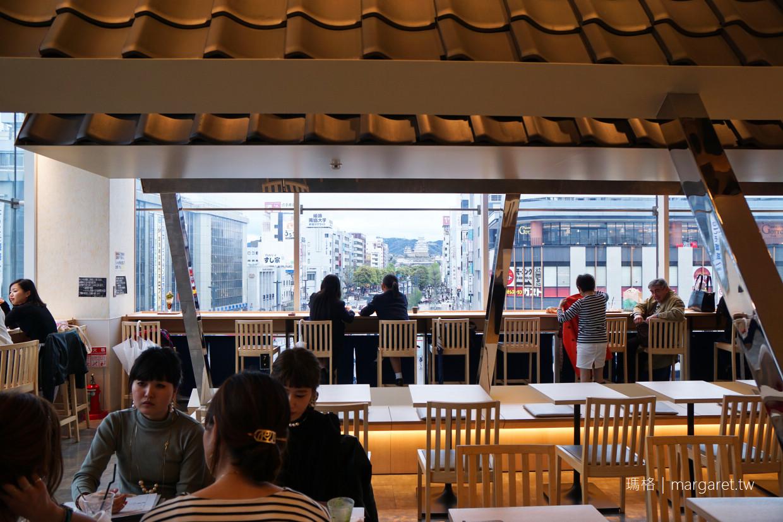 nana's green tea。與姬路城面對面下午茶|姬路駅旁piole百貨3樓