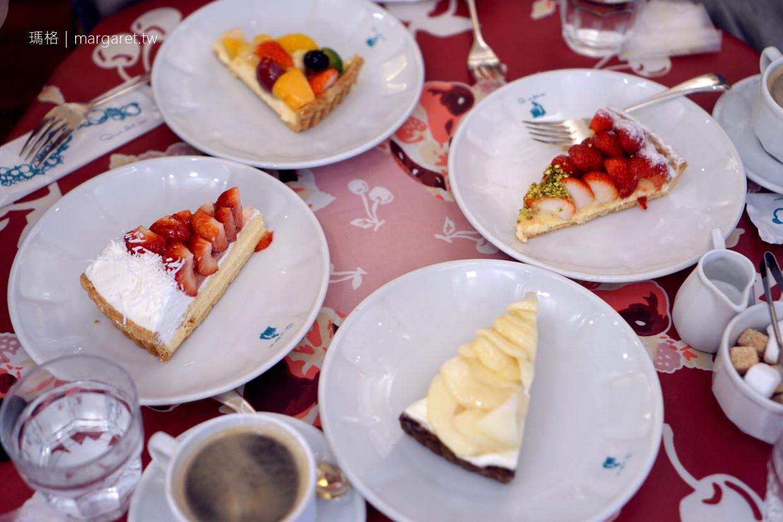 京都三条Quil Fait Bon。河邊的浪漫下午茶|限定版洋梨水果塔