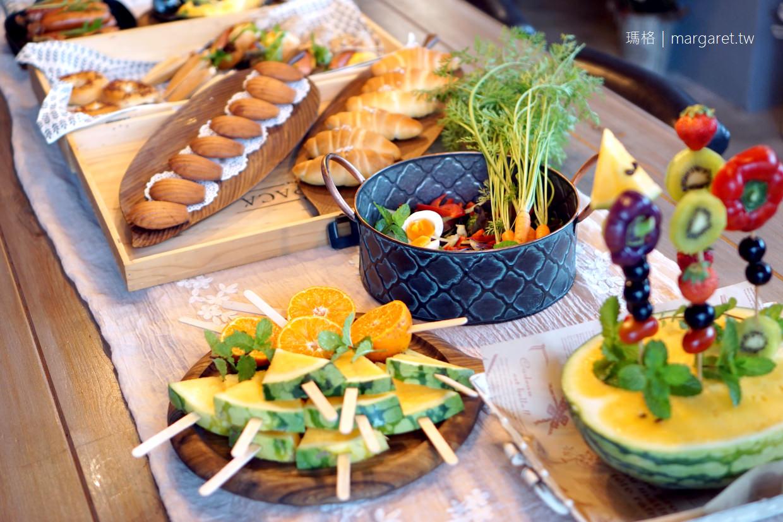 麵包樹舍。夢想中的森林早餐|花蓮光復鄉村民宿