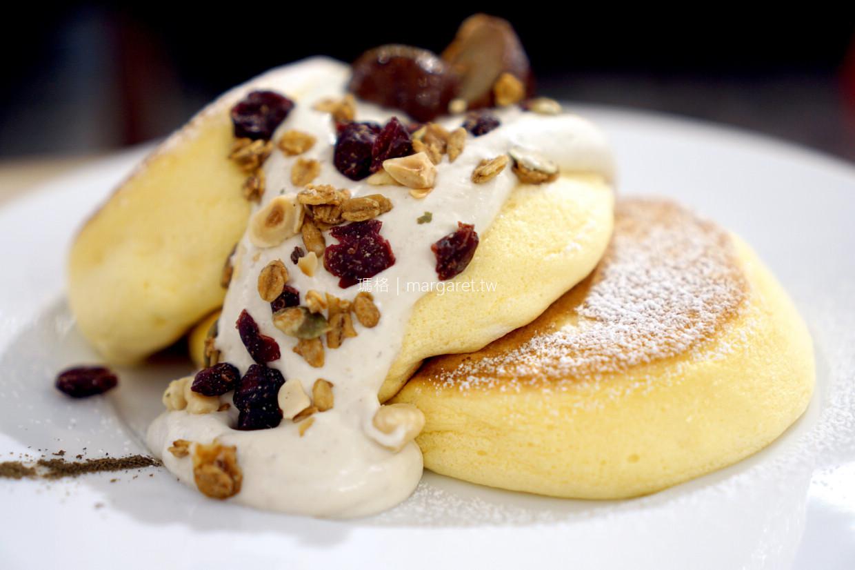 幸福Pancake心齋橋店。大阪美國村|美味的舒芙蕾鬆餅 @瑪格。圖寫生活