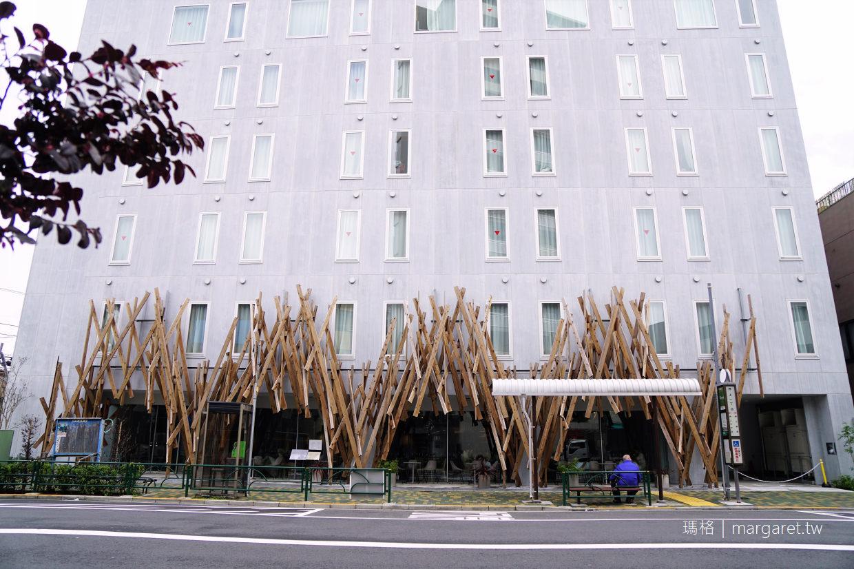 東京ONE@Tokyo。隈研吾監修設計旅店|頂樓露臺晴空塔Skytree夜景