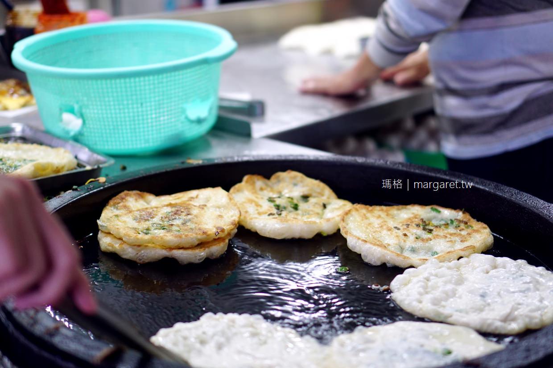 台東黃記蔥油餅。海濱店|邪惡的爆量九層塔(二訪更新)
