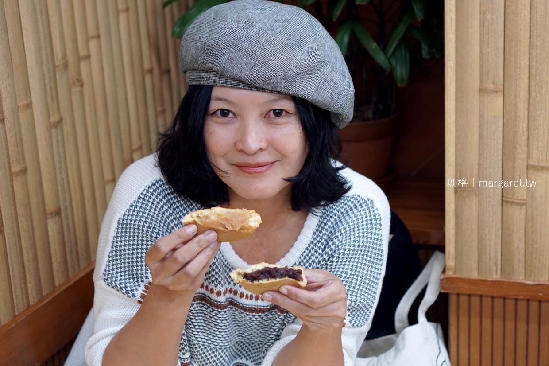 蜂樂饅頭。熊本上通店|60年古早味車輪餅,白鳳豆好吃(二訪更新)