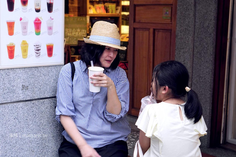 大稻埕的大盜陳|勇敢嘗試烏魚子奶蓋烏龍茶