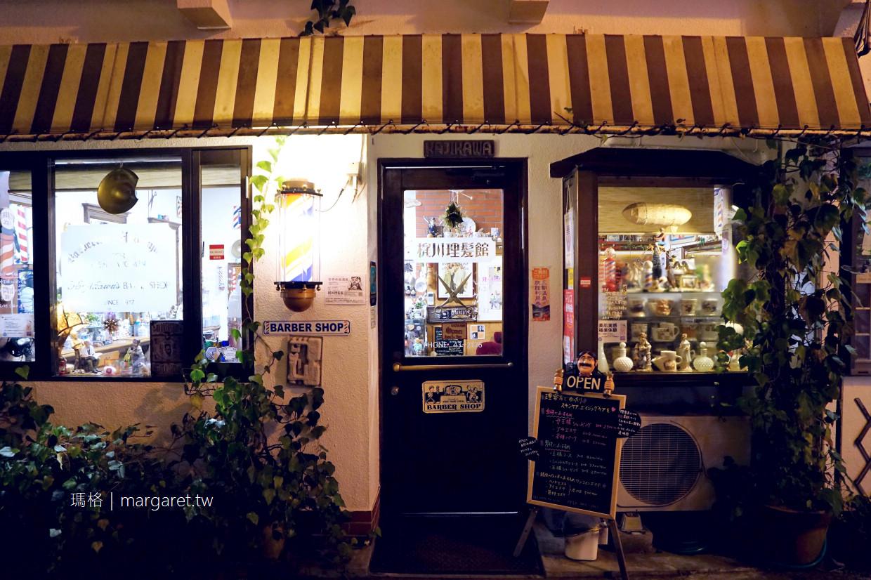 梶川理髪館。鳥取三朝溫泉街百年老舖|理容史料館。世界床屋遺產