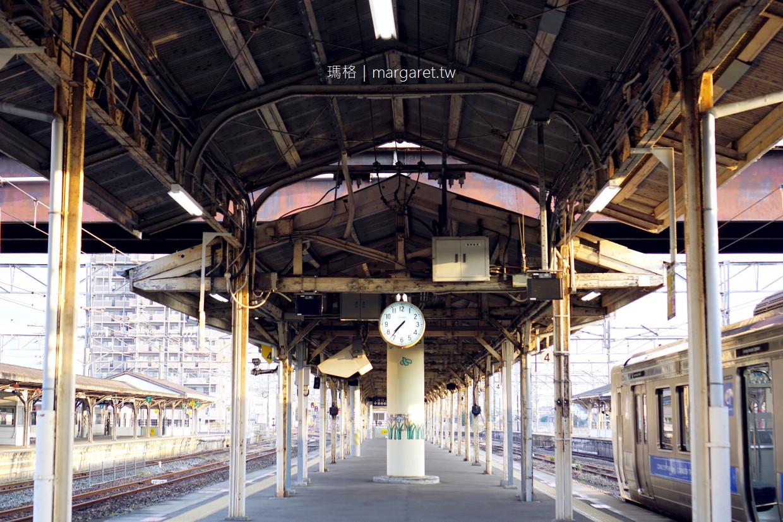 鳥栖站。經典懷舊鐵道景點|明治百年老車站。昭和蒸汽火車。九州最早月台立食烏龍麵 @瑪格。圖寫生活