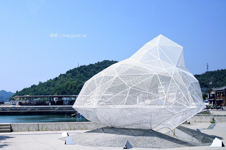 直島涼亭。宮浦港|建築金童藤本壯介的浮島意象。2019瀨戶內國際藝術祭