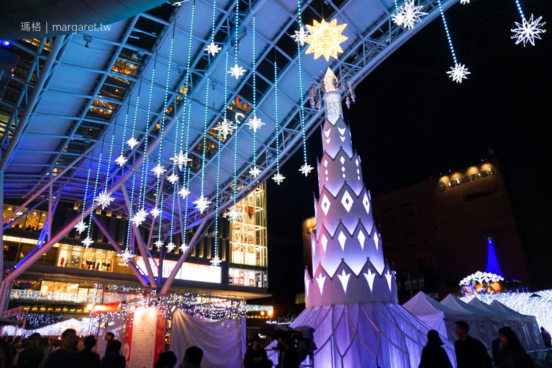 博多光之街。LED SKY WALK|九州福岡冬日風物詩