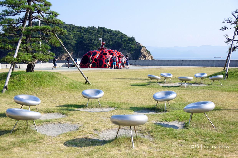 草間彌生紅南瓜。直島守門員|瀨戶內國際藝術祭