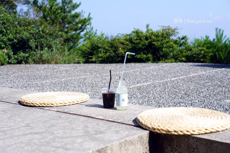 直島Chichu cafe。地中咖啡館|海景與瀨戶內海限定汽水