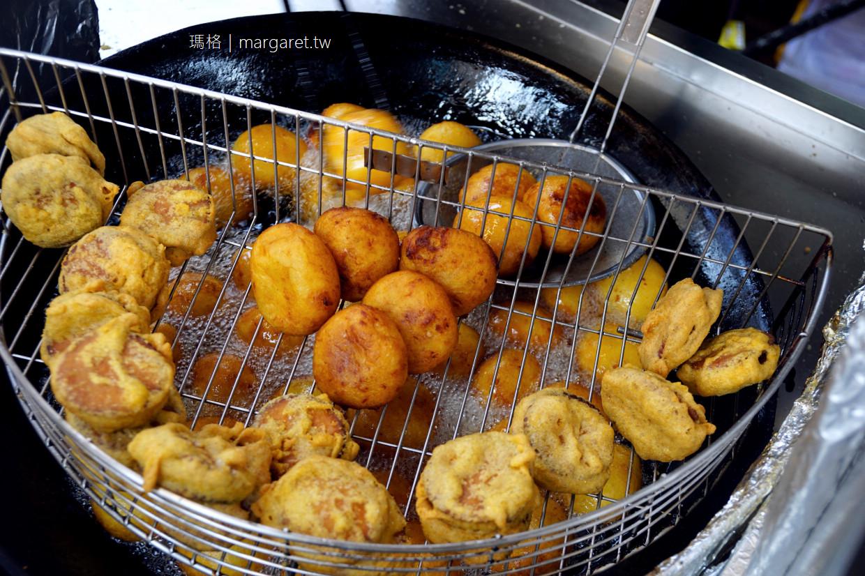 林家白糖粿。60年古早味老舖|台南國華街排隊美食。蕃薯椪芋頭餅也是一絕