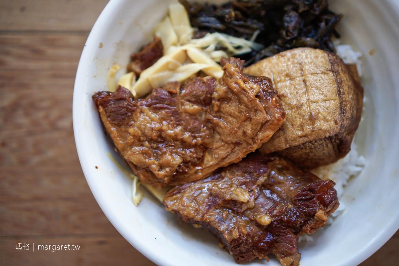 南門路豬腳飯。藏在花棚後的古早味無名食堂|台南孔廟商圈美食