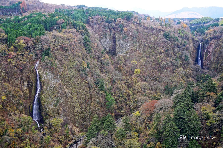 大分絕景。九重夢大吊橋|紅葉名所九醉溪谷。日本瀑布百選震動之瀧