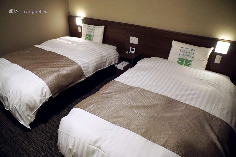 Dormy Inn 高松中央公園飯店|席夢思床。免費拉麵宵夜