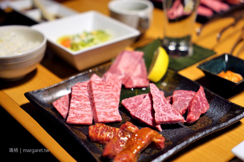 長崎和牛燒肉ぴゅあ。午間套餐|新地中華町附近美食 @瑪格。圖寫生活