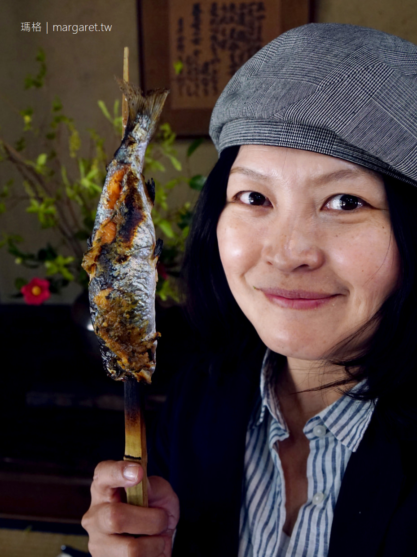 三滝園。鳥取森林裡的山菜料理|日本最美村莊智頭町 @瑪格。圖寫生活