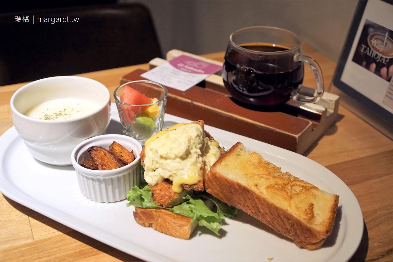 Meander 1948 Cafe。在金獎老屋設計旅店享用早餐|台北後火車站風格咖啡。限房客享用