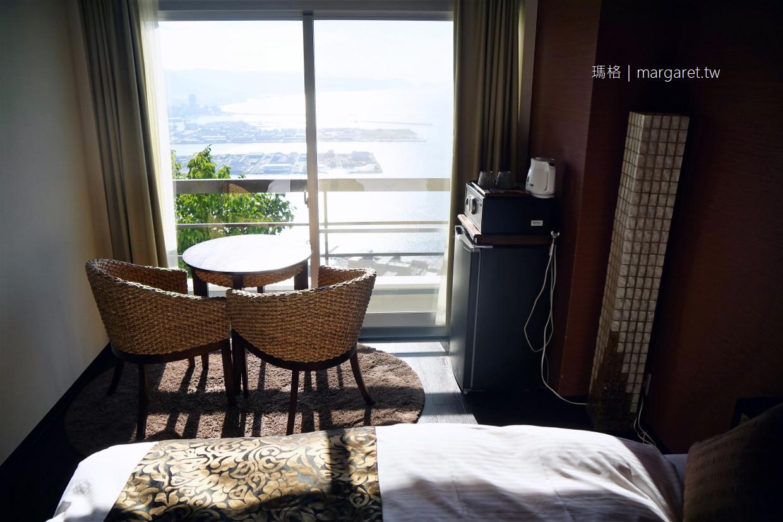 望海莊飯店Hotel Bokaiso。高松屋島山上|坐擁瀨戶內海、日本夕陽百選無敵海景房