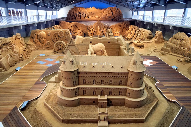 砂之美術館。世界唯一室內沙雕美術館|2018北歐篇沙雕藝術展