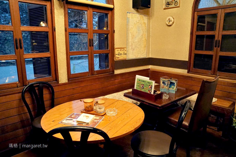 Coffee Sancho。彥根城周邊童話小屋咖啡館|紅色斜屋頂小洋房、立體童書改造菜單溫馨可愛