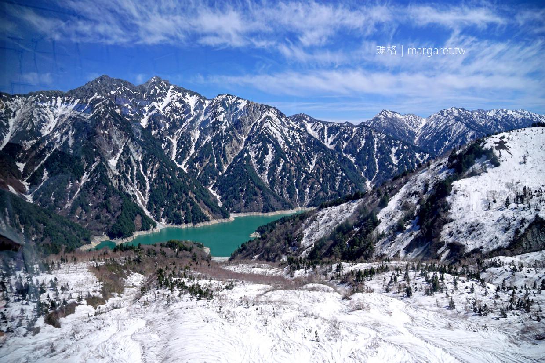立山空中纜車。日本最長無支柱高架索道|大觀峰。俯瞰黑部湖最佳地點 @瑪格。圖寫生活