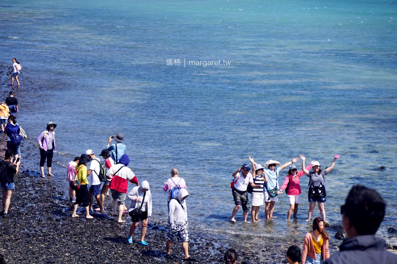 奎壁山摩西分海。澎湖絕景海底步道|交通潮汐