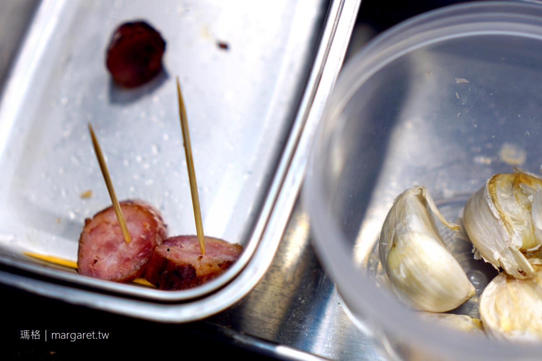 大俠地瓜酒香腸。嘉義文化路夜市美食新星|溫體黑豬肉 x 天然豬腸衣 x 國際烈酒銀賞
