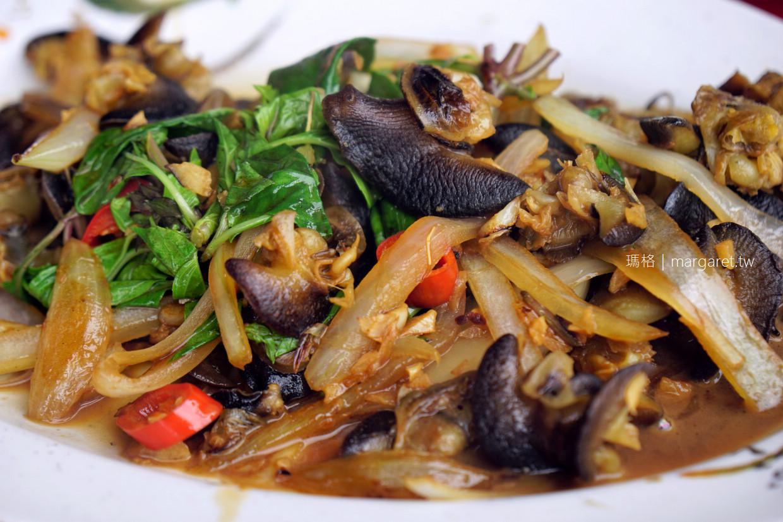 啊進師代煮。東港華僑市場|頂級黑鮪魚腹肉、胭脂蝦刺身美妙滋味 (二訪更新)
