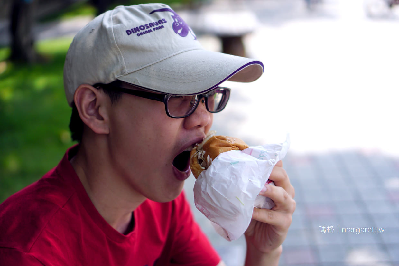 蓬萊漢堡。西點麵包店的現做漢堡|嘉義在地古早味點心