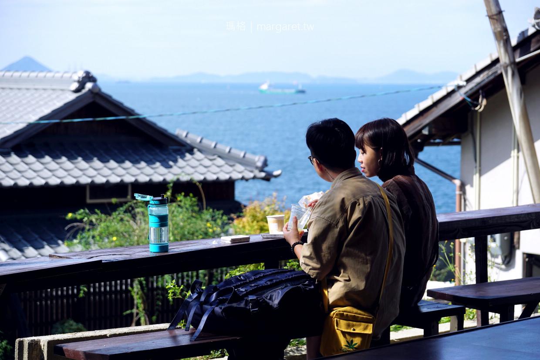 Dream Cafe。男木島海景咖啡|川島猛 x Dream Friends。瀨戶內國季藝術祭期間限定 @瑪格。圖寫生活
