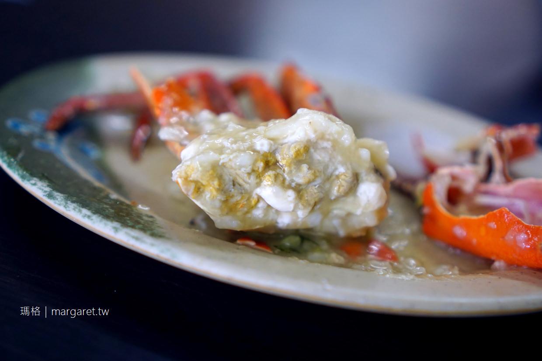 阿美螃蟹粥。飽滿的鮮味|台南安平美食