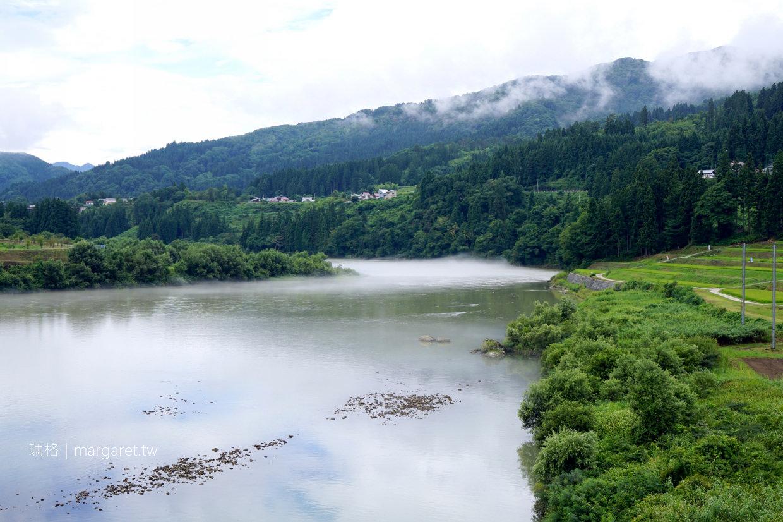 川霧只見線。奧會津夏日晨之美|只見川第一鐵橋火車經過時間