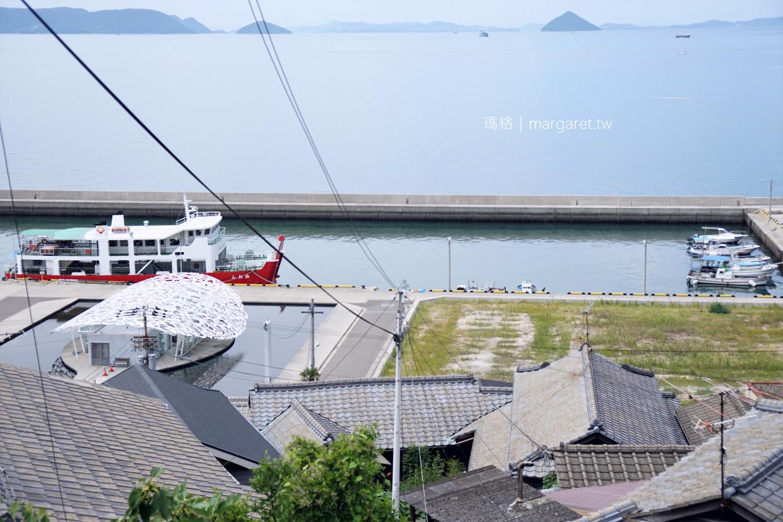 到男木島喝一杯海景咖啡|Dream Cafe。瀨戶內國季藝術祭期間限定