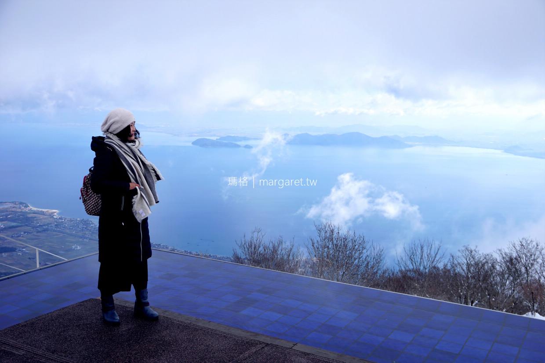 琵琶湖觀景台Biwako Terrace。關西絕景咖啡館|360度眺望日本最大湖 @瑪格。圖寫生活