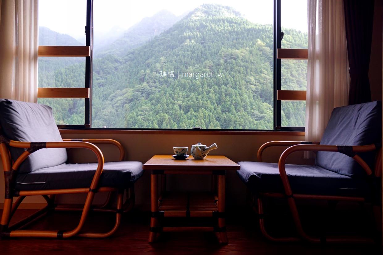 新祖谷溫泉飯店蔓橋。天空露天風呂|日本三大秘湯 @瑪格。圖寫生活