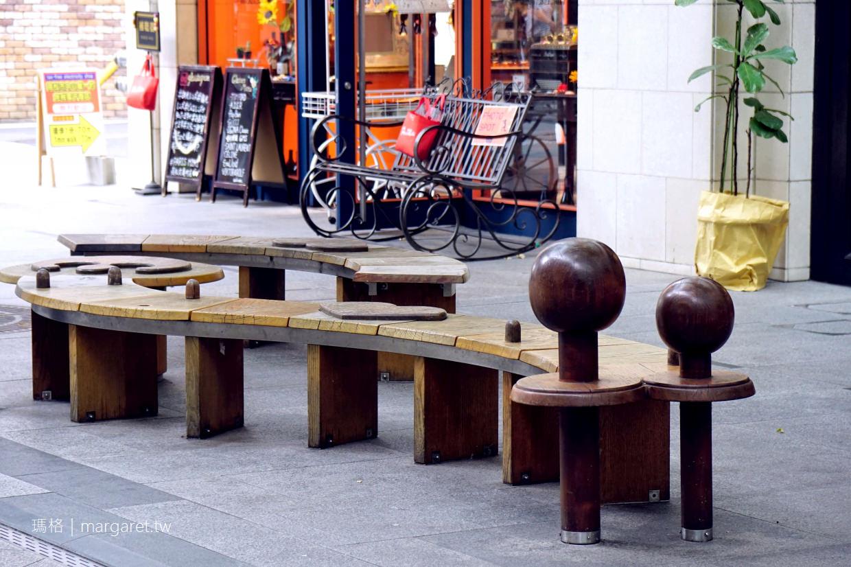 音樂鐘星巴克Starbucks|高松丸龜町商店街。圓頂廣場