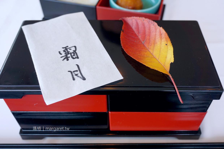 一扇日本料理。在美術館裡吃便當|直島Benesse House Museum @瑪格。圖寫生活