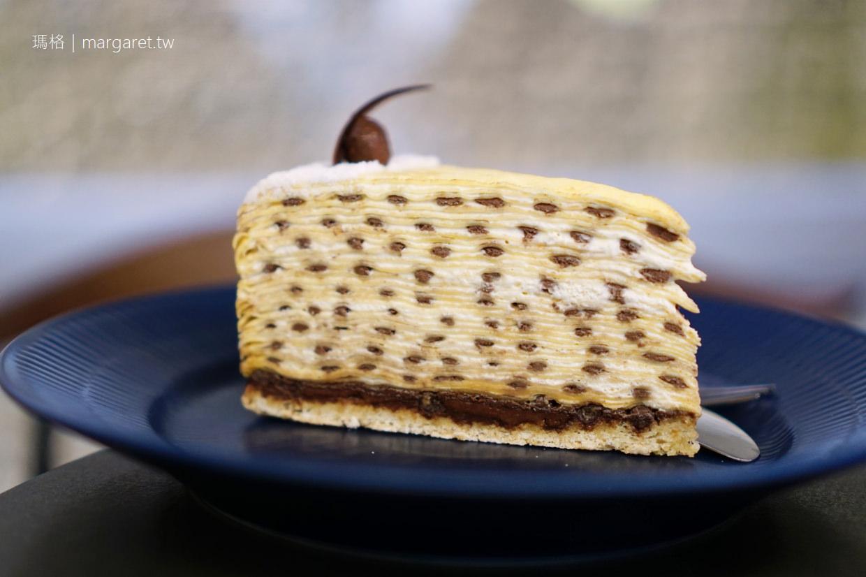 深藍咖啡旗艦店|台南千層蛋糕名店。毛森江清水模建築