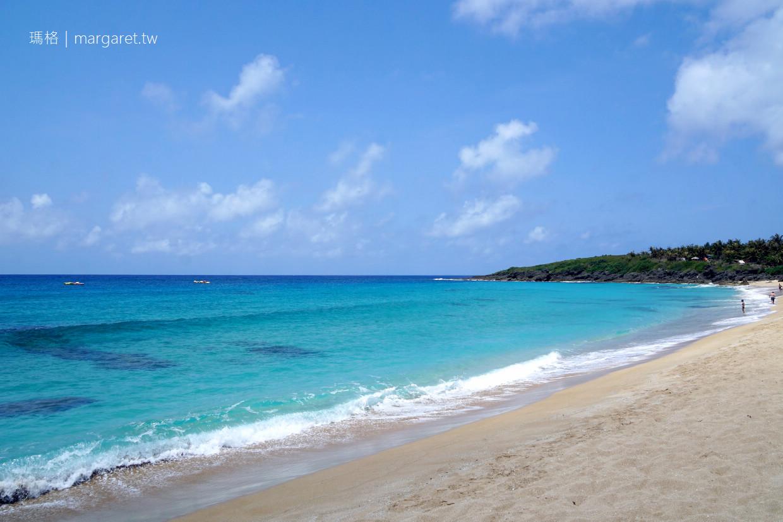白砂灣。綿延500公尺貝殼砂海岸|亞洲十大度假勝地。少年Pi奇幻漂流電影場景